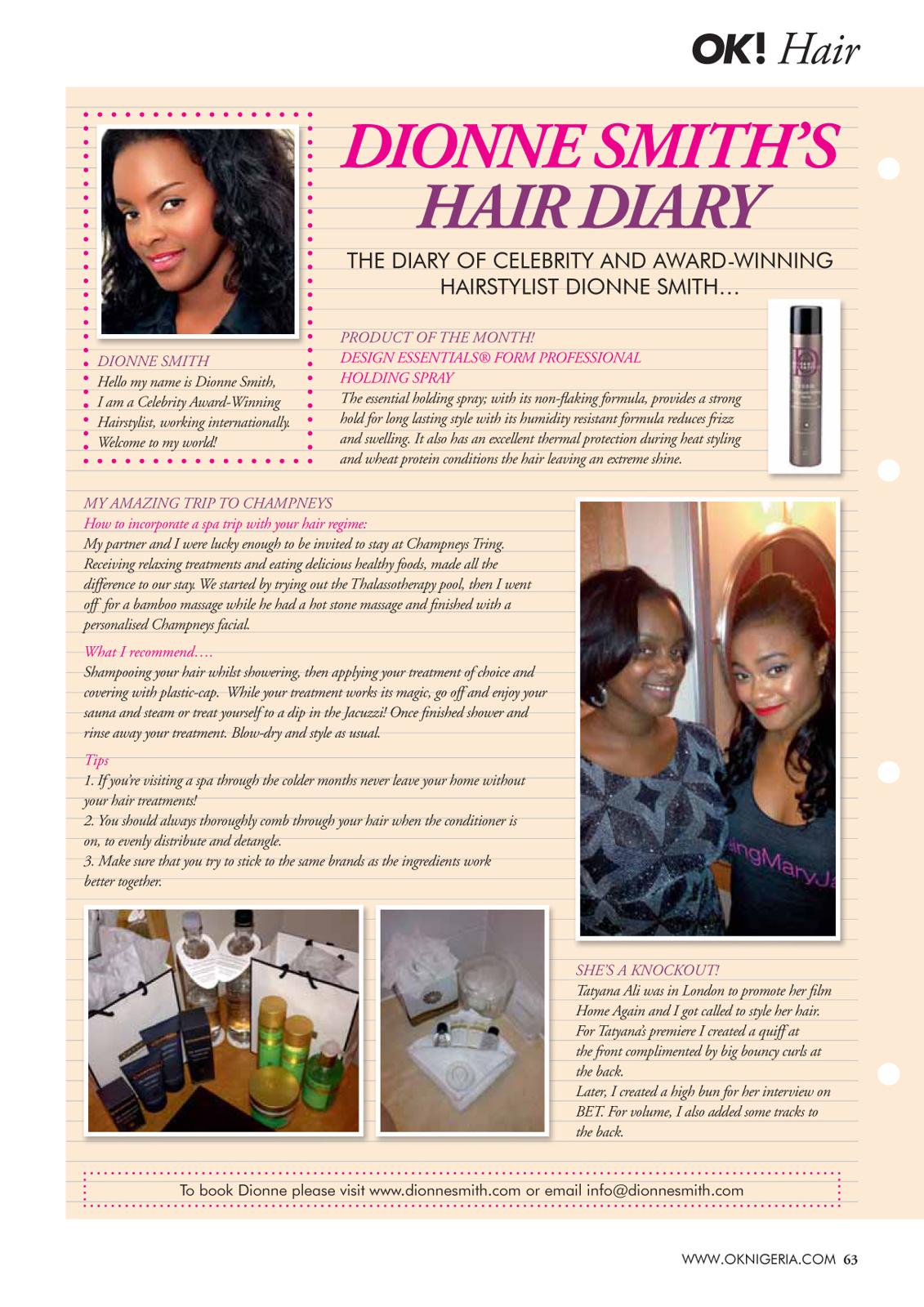 63 Dionne Hair Diary Dec13.indd