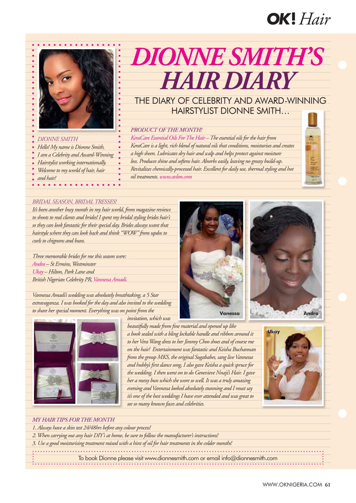 61 Hair Dionne Nov13.indd